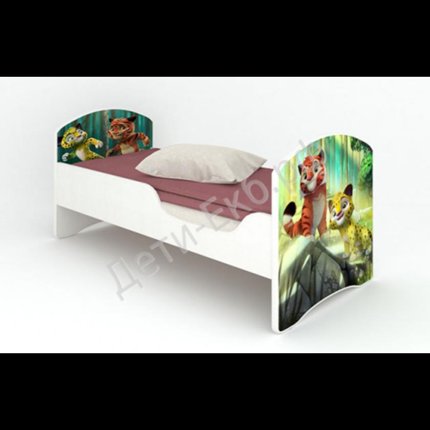 """Кроватка """"Лео и Тиг"""" без ящиков"""