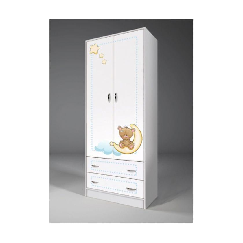 Шкаф 2-створчатый Мишки-тедди