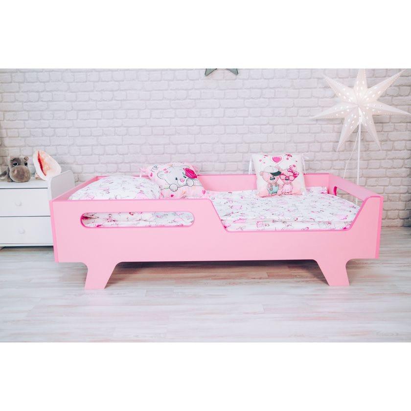 Кровать Бэби розовая