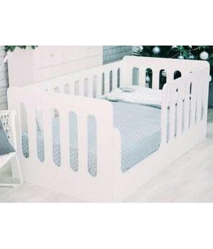 Детская кровать-манеж вертикали
