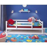 Детская кровать Сонечка одноярусная с бортиком