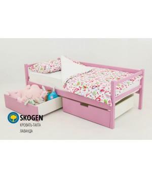 Детская деревянная кровать-тахта «Skoden лаванда»