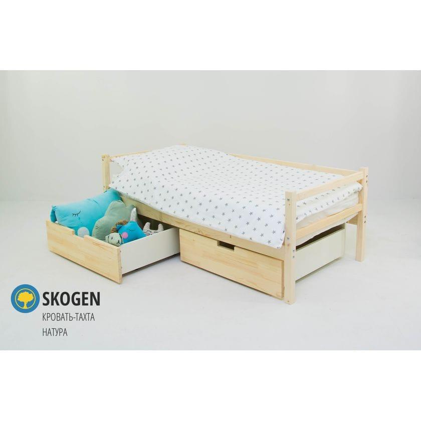 Детская деревянная кровать-тахта Svogen натура