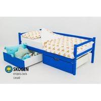 Детская деревянная кровать-тахта Svogen синий