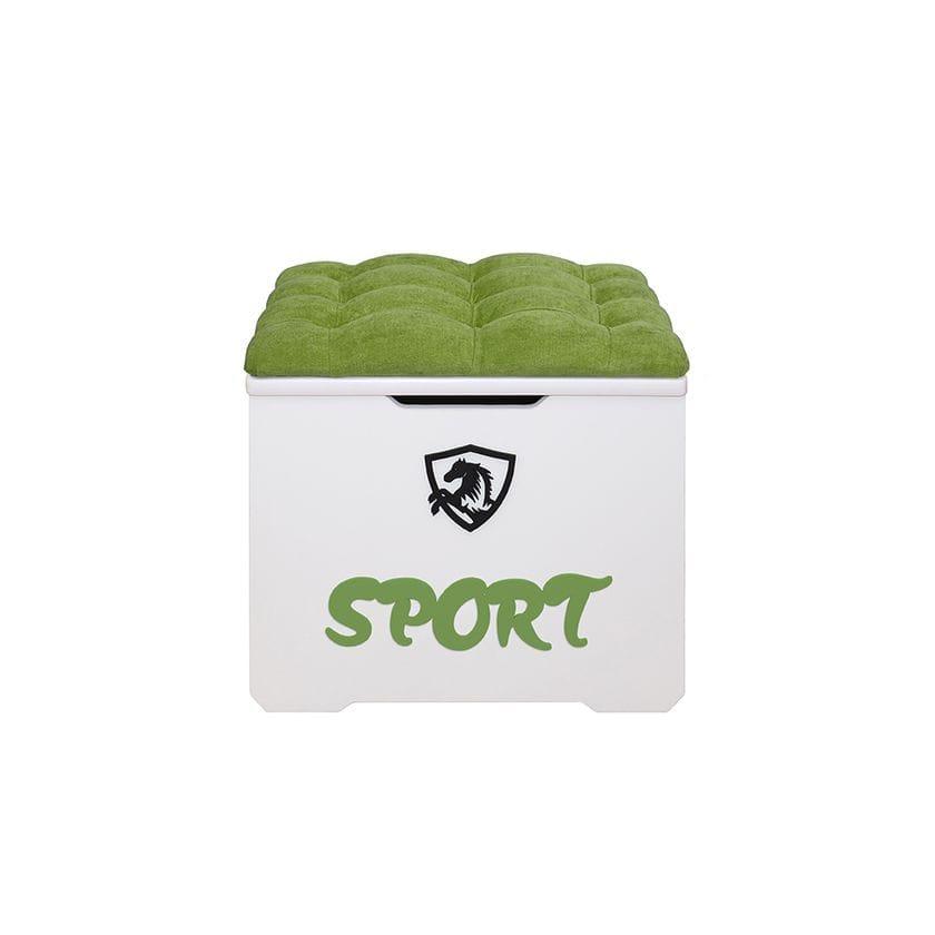 Ящик-пуфик Спорт 50 см