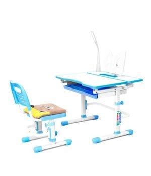 Комплект RIFFORMA Comfort-07: парта + лампа + стул + мягкий чехол