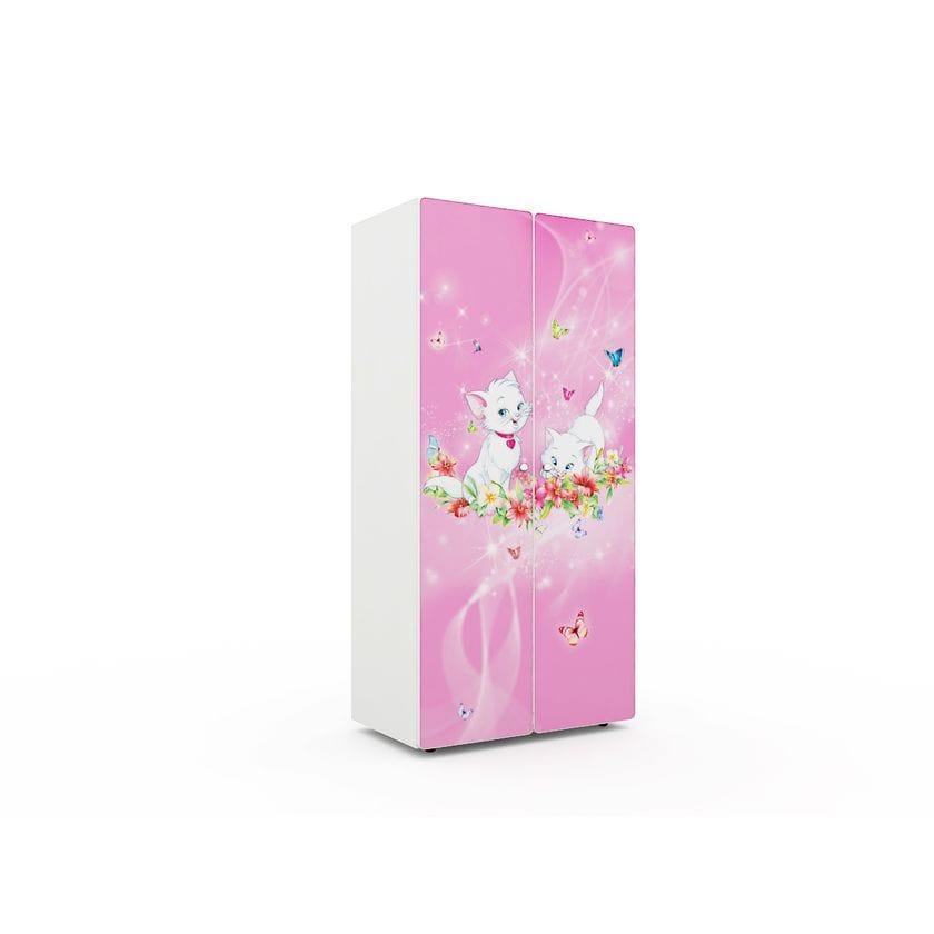 """Шкаф """"Китти розовая"""""""
