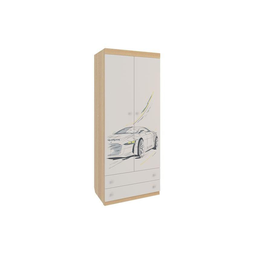 Шкаф комбинированный 2-створчатый Форсаж