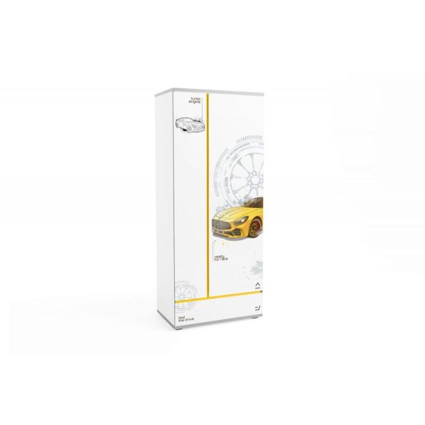 Шкаф Q-bix 31 Желтый Мерседес