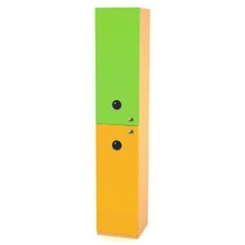 Шкаф-пенал Выше радуги комбинированный
