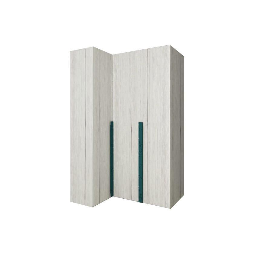 Шкаф угловой НьюТон (правый)