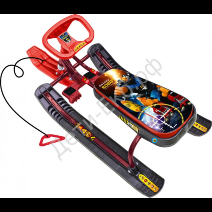"""Снегокат """"Тимка спорт 2"""" Робот (выс.440мм)"""