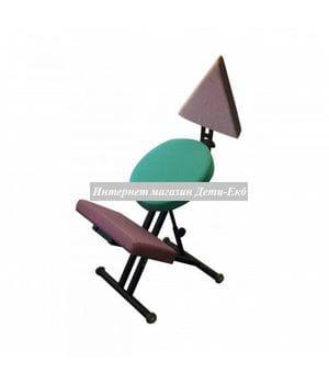 """Эргономичный коленный стул """"Олимп"""" Геометрия"""