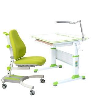 Парта-трансформер RIFFORMA Comfort-80 + Cветильник TL11S + Кресло Comfort 33