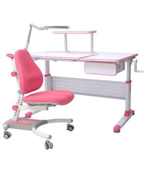Парта растущая RIFFORMA Comfort 34 + Кресло Comfort 33 + Светильник TL11S