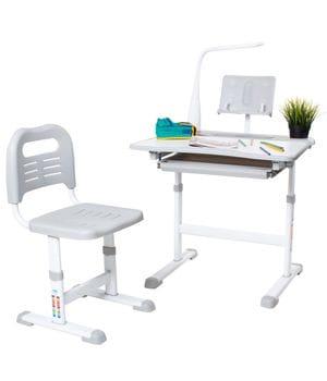 Комплект парта с подставкой для книг + стул Rifforma Set-17