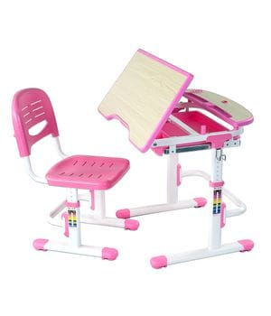 Комплект растущая парта + стул Sorriso