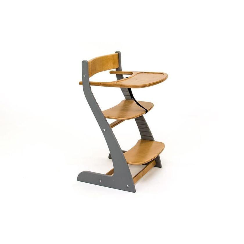 Детский регулируемый стул Урса графит-дерево