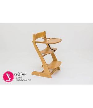 Детский регулируемый стул Урса древесный